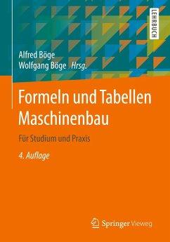Formeln und Tabellen Maschinenbau für Studium u...