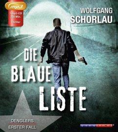 Die blaue Liste / Georg Dengler Bd.1 (1 MP3-CDs)