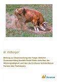 Beitrag zur Beantwortung der Frage: Welcher Zusammenhang besteht beim Rinde zwischen der Milchergiebigkeit und den durch Masse feststellbaren Formen des Tierkörpers