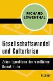 Gesellschaftswandel und Kulturkrise (eBook, ePUB)