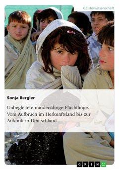 Unbegleitete minderjährige Flüchtlinge. Vom Aufbruch im Herkunftsland bis zur Ankunft in Deutschland (eBook, ePUB)