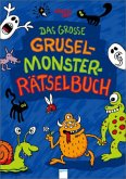 Das große Grusel-Monster-Rätselbuch (Mängelexemplar)