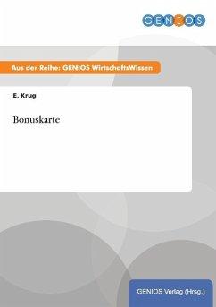 Bonuskarte - Krug, E.
