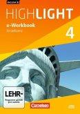 8. Schuljahr, e-Workbook auf CD-ROM / English G Highlight, Hauptschule Bd.4