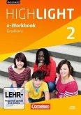 6. Schuljahr, e-Workbook auf CD-ROM / English G Highlight, Hauptschule Bd.2