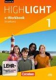 5. Schuljahr, e-Workbook auf CD-ROM / English G Highlight, Hauptschule Bd.1