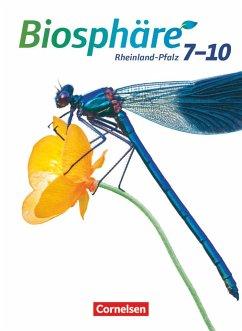 Biosphäre Sekundarstufe I 7.-10. Schuljahr. Schülerbuch Gymnasium Rheinland-Pfalz - Hübner, Silke; Merk, Gabriele; Scholz, Kathrin