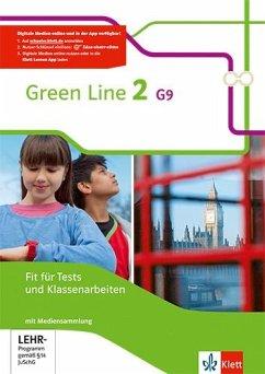 Green Line 2 G9. Fit für Tests und Klassenarbeiten mit Lösungsheft und CD-ROM. Neue Ausgabe