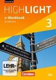 7. Schuljahr, e-Workbook auf CD-ROM / English G Highlight, Hauptschule Bd.3