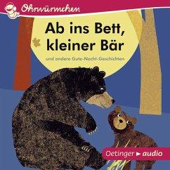 Ab ins Bett, kleiner Bär und andere Gute-Nacht-Geschichten (MP3-Download) - Tecktentrup, Britta