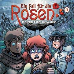 Ein Fall für die Rosen, Folge 5: Die letzte Fahrt der Nautilus (MP3-Download) - Winter, Markus