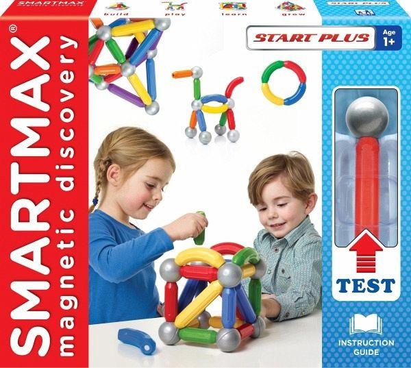 Baukästen & Konstruktion Spielzeug Magnetspiel Smartmax Start Plus 23-teilig