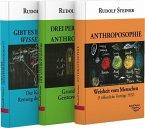 Anthroposophie - Die drei Perspektiven der Anthroposophie - Gibt es eine Geisteswissenschaft. 3 Taschenbücher ( Set)