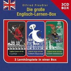 Die große Englisch-Lernen-Box - 3-CD Hörspielbox, 3 Audio-CDs - Preußler, Otfried