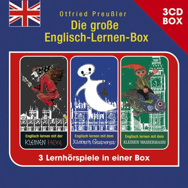 die gro e englisch lernen box 3 cd h rspielbox 3 audio cds von otfried preu ler h rbuch. Black Bedroom Furniture Sets. Home Design Ideas