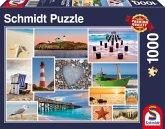 Schmidt 58221 - Am Meer, 1.000 Teile, Klassische Puzzle