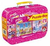Schmidt 56510 - Mia und Me, Puzzle-Box, 2 x 60, 2 x 100 Teile