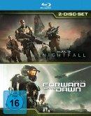 Halo: Nightfall / Halo 4: Forward Unto Dawn BLU-RAY Box