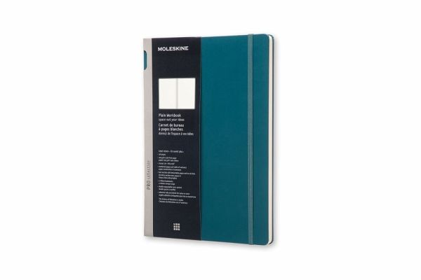 moleskine konzeptbuch a4 blanko hard cover meergr n englisches buch b. Black Bedroom Furniture Sets. Home Design Ideas