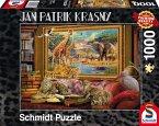 Schmidt 59335 - Jan Patrik Krasny oder Coming to Life, Die Savanne - zum Leben erwacht