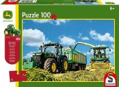 Schmidt 56043 - John Deere, 8370R, 60 Teile, Klassische Puzzle