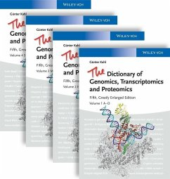 The Dictionary of Genomics, Transcriptomics and Proteomics (eBook, ePUB) - Kahl, Günter