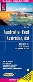 Reise Know-How Landkarte Australien, Ost (1:1.800.000); Eastern Australia / Australie, est / Australia este