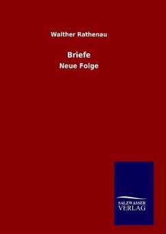 9783846082348 - Rathenau, Walther: Briefe - Boek