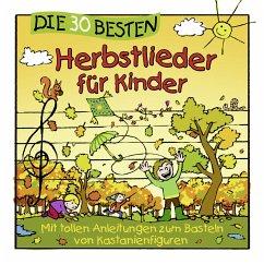 Die 30 besten Herbstlieder für Kinder, 1 Audio-CD - Sommerland, Simone; Glück, Karsten; Die Kita-Frösche