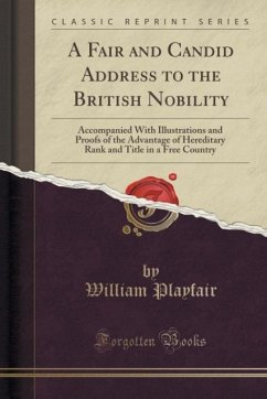 A Fair and Candid Address to the British Nobility