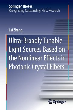 Ultra-Broadly Tunable Light Sources Based on the Nonlinear Effects in Photonic Crystal Fibers - Zhang, Lei