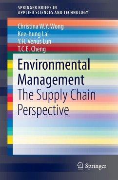 Environmental Management - Wong, Christina W. Y.; Lai, Kee-hung; Lun, Y. H. Venus
