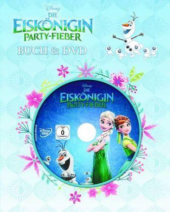 Disney Die Eiskönigin - Party-Fieber, m. DVD - Disney, Walt