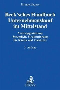 Beck´sches Handbuch Unternehmenskauf im Mittels...