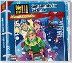 Die drei Ausrufezeichen - Adventskalender 2015 - Geheimnis im Schnee, 2 Audio-CDs