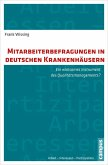 Mitarbeiterbefragungen in deutschen Krankenhäusern (eBook, PDF)