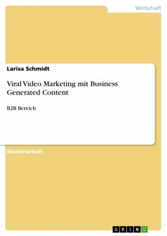 Viral Video Marketing mit Business Generated Content (eBook, ePUB)