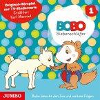 Bobo Siebenschläfer. Bobo besucht den Zoo und weitere Folgen (MP3-Download)