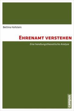 Ehrenamt verstehen (eBook, PDF) - Hollstein, Bettina