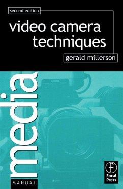 Video Camera Techniques (eBook, PDF) - Millerson, Gerald