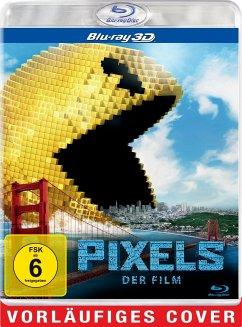 Pixels (Blu-ray 3D, + Blu-ray)