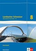 Lambacher Schweizer. 8. Schuljahr G9. Arbeitsheft plus Lösungsheft. Neubearbeitung. Niedersachsen