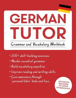 German Tutor: Grammar and Vocabulary Workbook (Learn German with Teach Yourself) - Kreutner, Edith; Langner, Jonas
