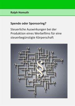 Spende oder Sponsoring?