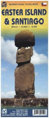 International Travel Map ITM Topographische Karte Easter Island
