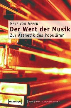 Der Wert der Musik (eBook, PDF) - Appen, Ralf von
