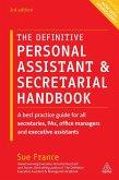 The Definitive Personal Assistant & Secretarial Handbook (eBook, ePUB)