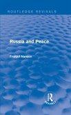Russia and Peace (eBook, PDF)
