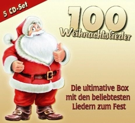 100 weihnachtslieder die ultimative box cd. Black Bedroom Furniture Sets. Home Design Ideas