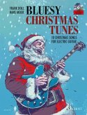 Bluesy Christmas Tunes For Electric Guitar, w. Audio-CD